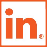 LinkedIn Logo Oranje