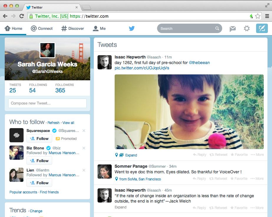 Nieuw design voor mobiele Twitter apps voor Android en iPhone