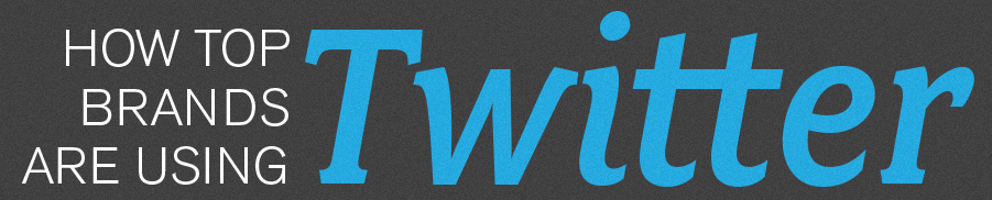 Leren van hoe grote merken Twitter gebruiken