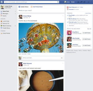 Vernieuwd Facebook nieuwsoverzicht