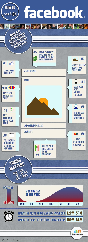 10 tips voor updates op Facebook bedrijfspagina's