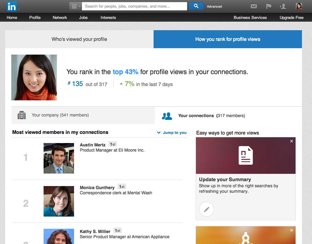 Verbeter je LinkedIn profiel met 'How You Rank' - NSMA