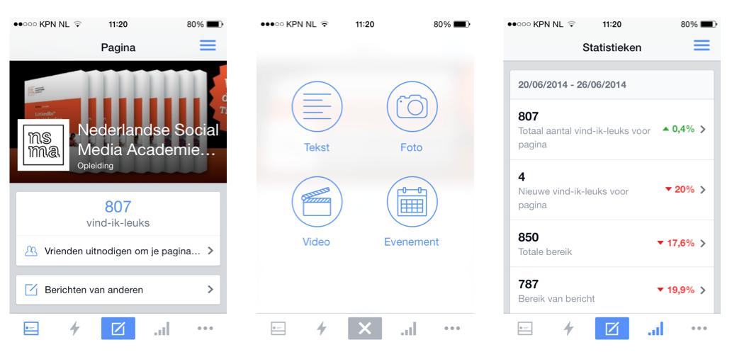 Vernieuwde Facebook Paginabeheer-app