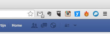 Facebook Unseen in Google Chrome