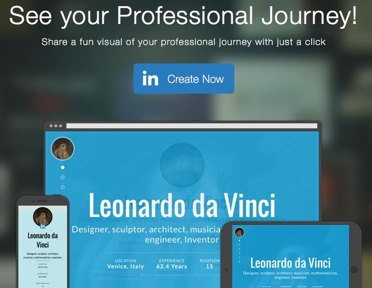 Maak een visueel cv op LinkedIn met 'Slideshare Professional Journey'