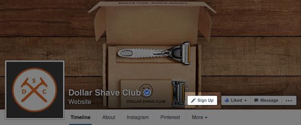 Call-to-action knoppen binnenkort op Facebook bedrijfspagina's
