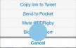 Twitter beveiliging uitgebreid met blokkeer- en rapporteer-functies
