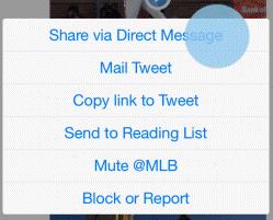 Twitter introduceert het delen van een tweet in een direct message