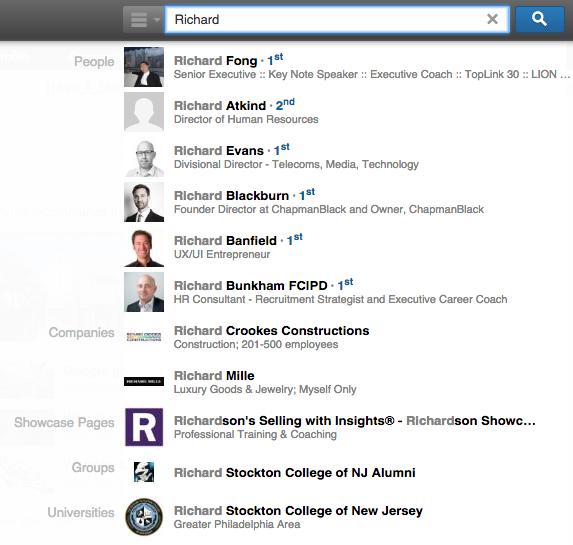 LinkedIn.com verbeterd waardoor het nog makkelijker zoeken op LinkedIn ...