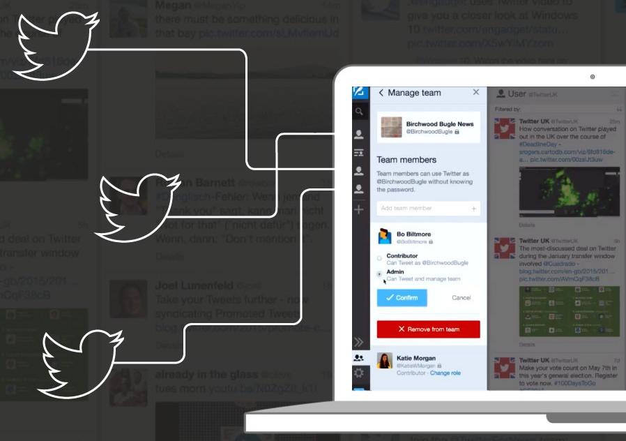 Tweetdeck introduceert teamfunctie om samen te werken