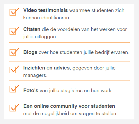 Content marketing voor werving via LinkedIn