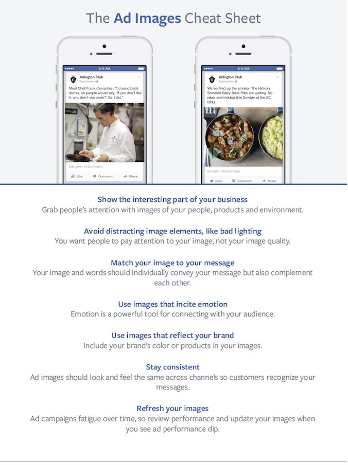 Tips voor de juiste afbeelding bij Facebook advertenties