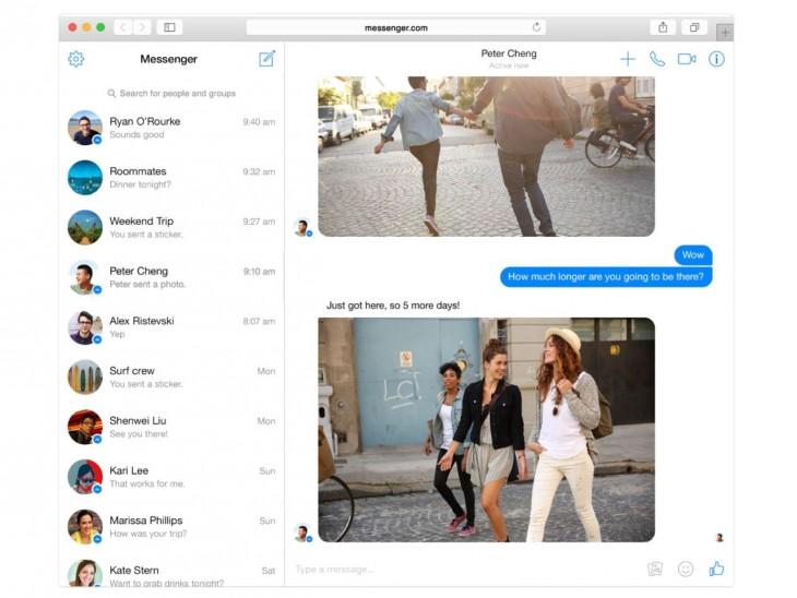 Facebook Messenger krijgt uitbreiding met browserversie