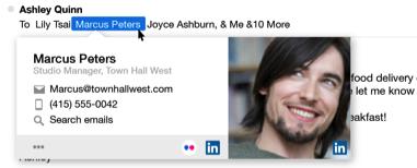 LinkedIn biedt een integratie met Yahoo mail aan