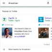 Tweets zijn zichtbaar in Google resultaten