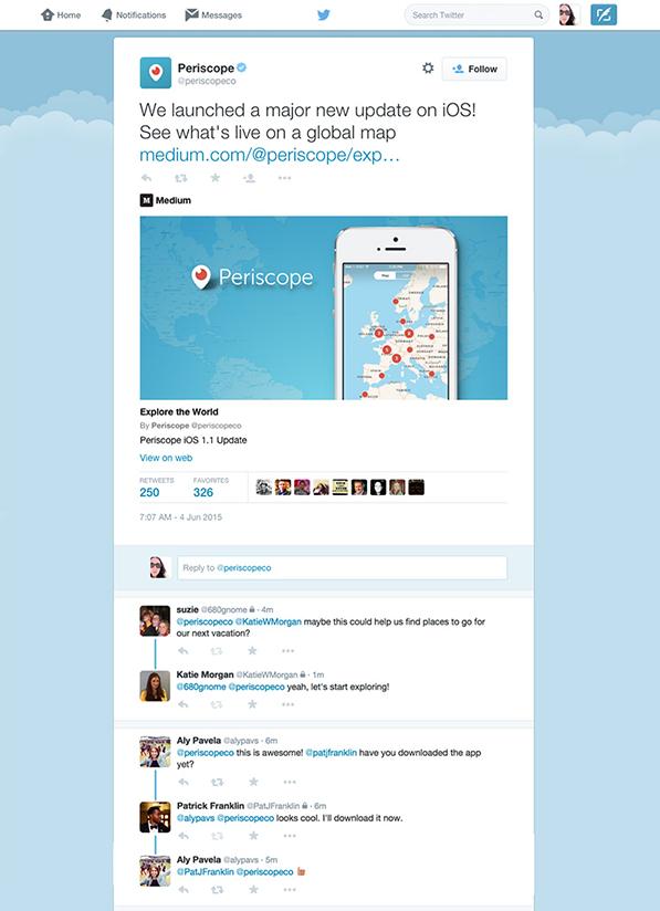 Conversaties op Twitter eenvoudiger volgen via Twitter.com