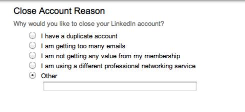 Handleiding voor het verwijderen van een LinkedIn account