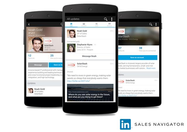 LinkedIn Sales Navigator beschikbaar voor Android