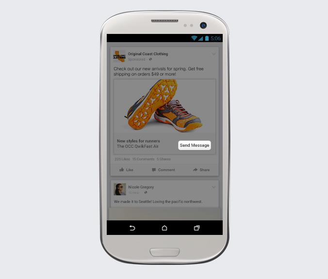 Facebook Messenger voor bedrijven - Advertenties