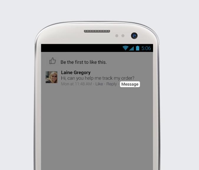 Facebook Messenger voor bedrijven - Chat