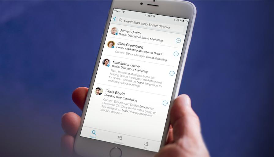 LinkedIn Lookup helpt bij het snel vinden van collega's