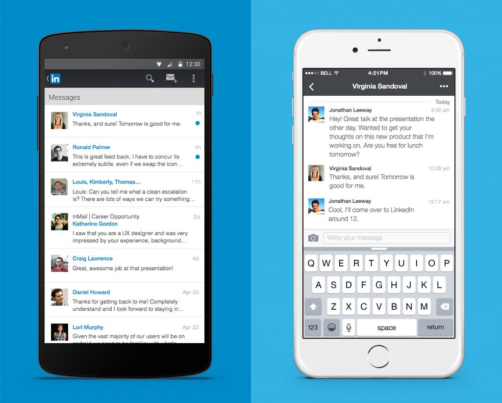 Introductie nieuwe LinkedIn-messages (linkedin berichtencentrum)