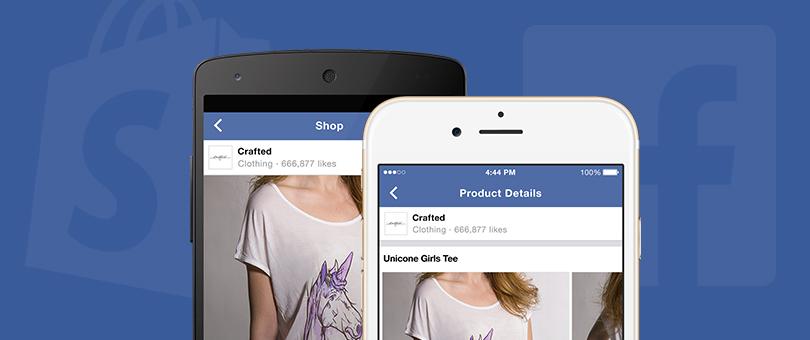 Verkoop direct producten via Facebook bedrijfspagina's met Shopify