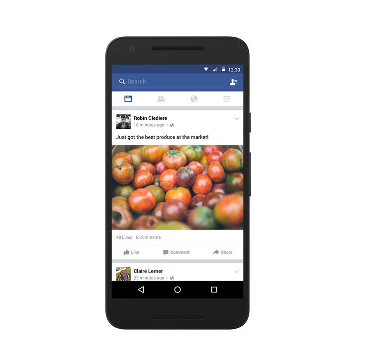 Facebook nieuwsoverzicht toegankelijker bij slechte verbindingen