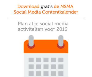 NSMA Social Media Contentkalender 2016