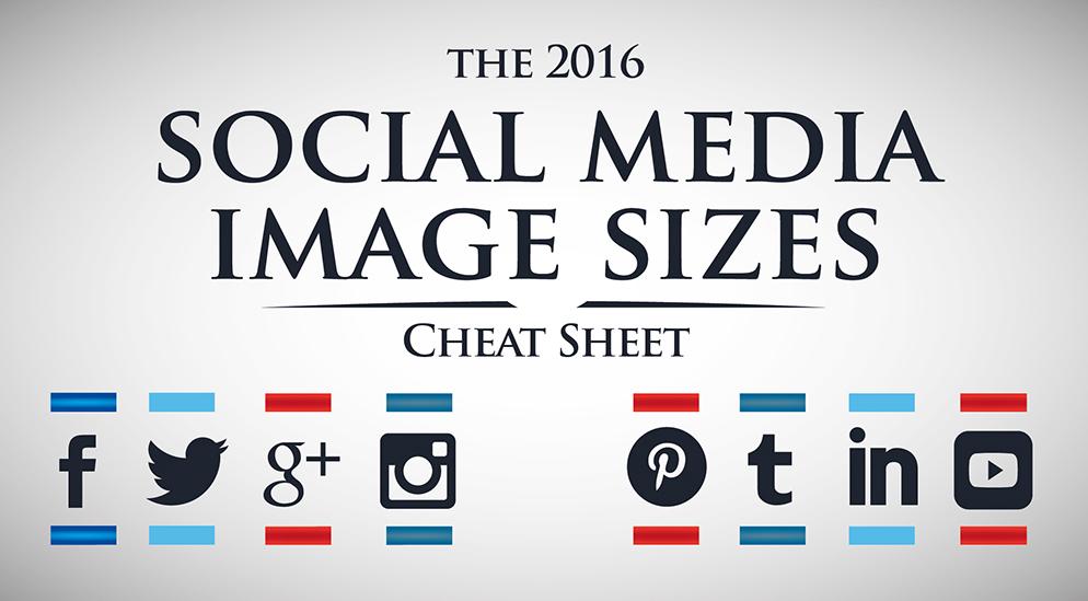 Afmetingen social media afbeeldingen