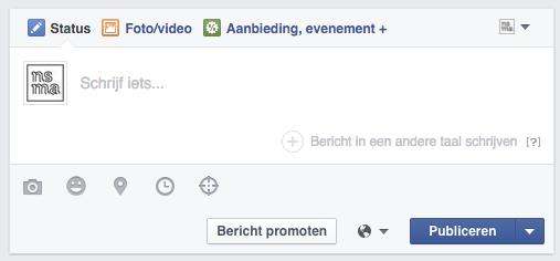 Bericht in een andere taal schrijven op Facebook