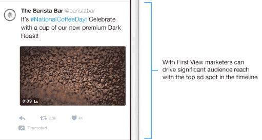 Meer zichtbaarheid met adverteren op Twitter met First View