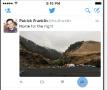 Eenvoudiger delen van tweets via DM