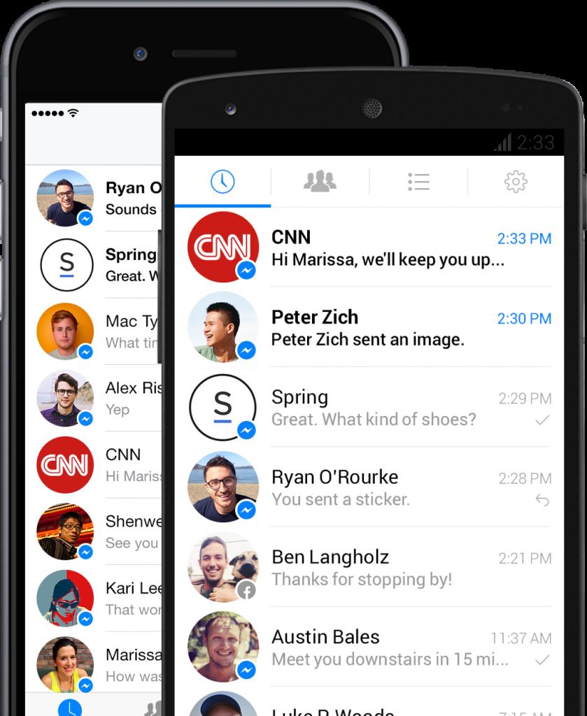 Facebook Messenger Platform geïntroduceerd