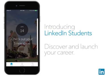 LinkedIn app helpt studenten snel een baan te vinden
