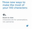 Twitter wijzigt limiet van 140 tekens in tweets