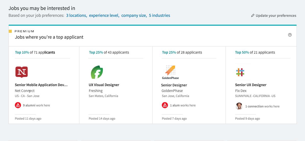 Eenvoudiger zoeken in LinkedIn Jobs