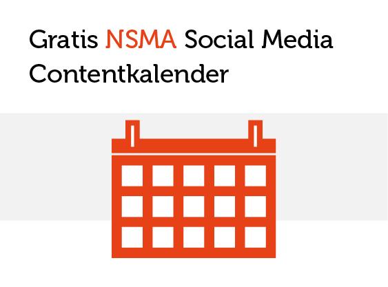 NSMA Social Media Contentkalender 2019