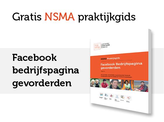 NSMA Praktijkgids Facebook bedrijfspagina gevorderden