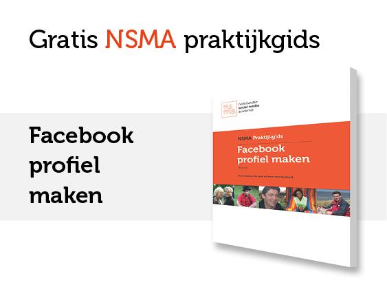 NSMA Praktijkgids Facebook profiel maken