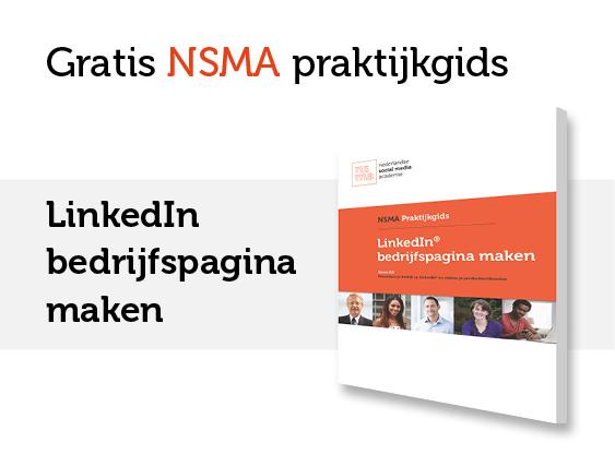 NSMA Praktijkgids LinkedIn bedrijfspagina maken