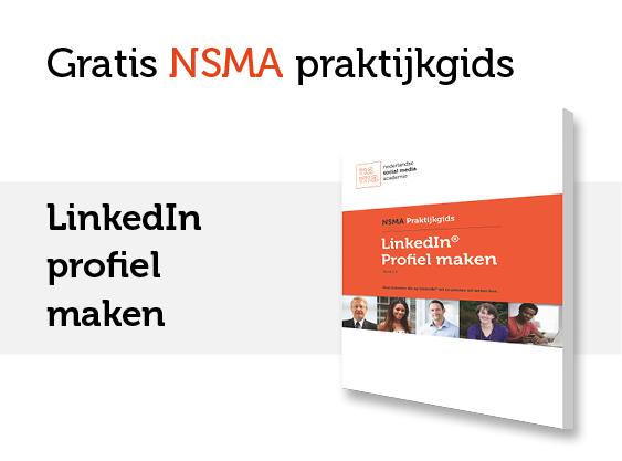 NSMA Praktijkgids LinkedIn profiel maken