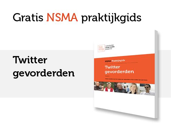 NSMA Praktijkgids Twitter gevorderden