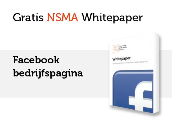 NSMA Whitepaper: Facebook bedrijfspagina