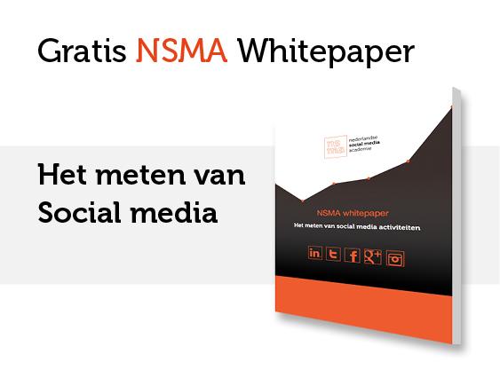 NSMA Whitepaper: Het meten van social media