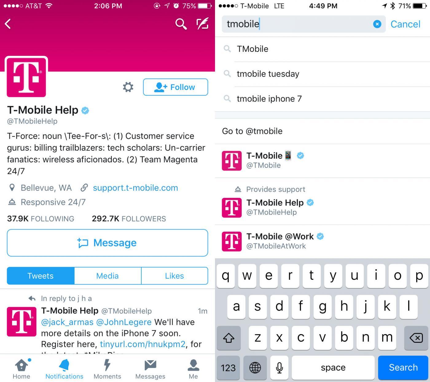 Nieuwe mogelijkheden voor klantenservice op Twitter