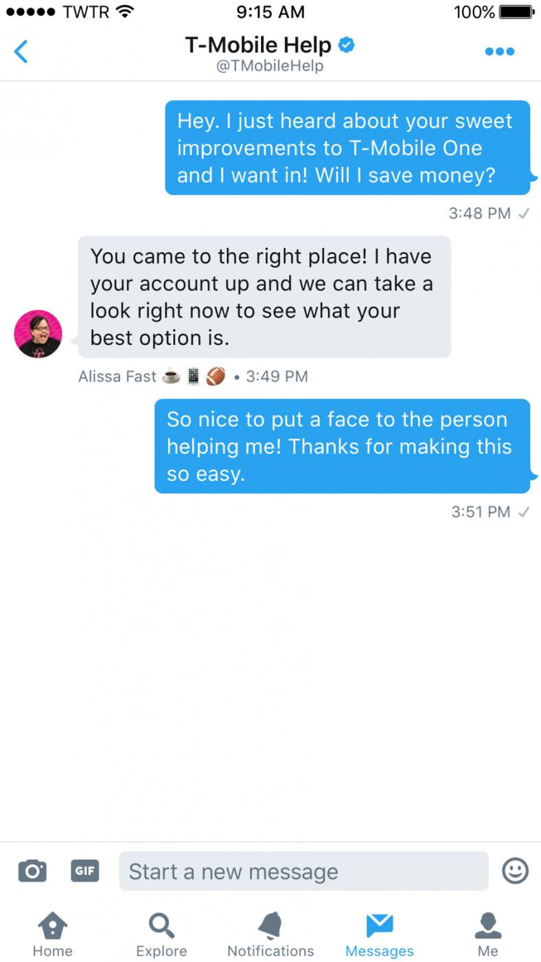 Verbeter de customer experience met Twitter Direct Messages