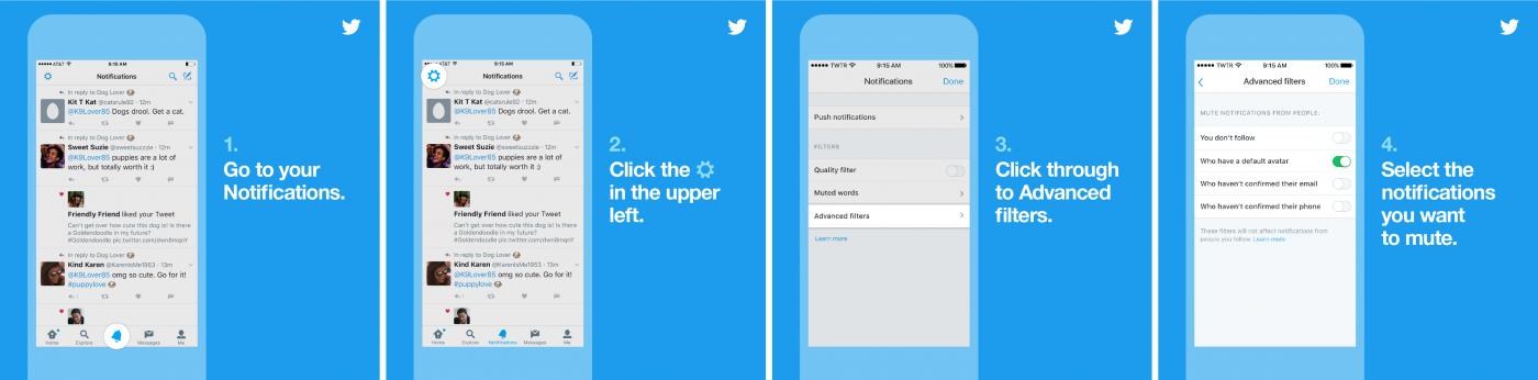 Twitter veiligheid uitgebreid met nieuwe mogelijkheden