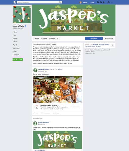 Bekijk de Facebook advertenties van bedrijven