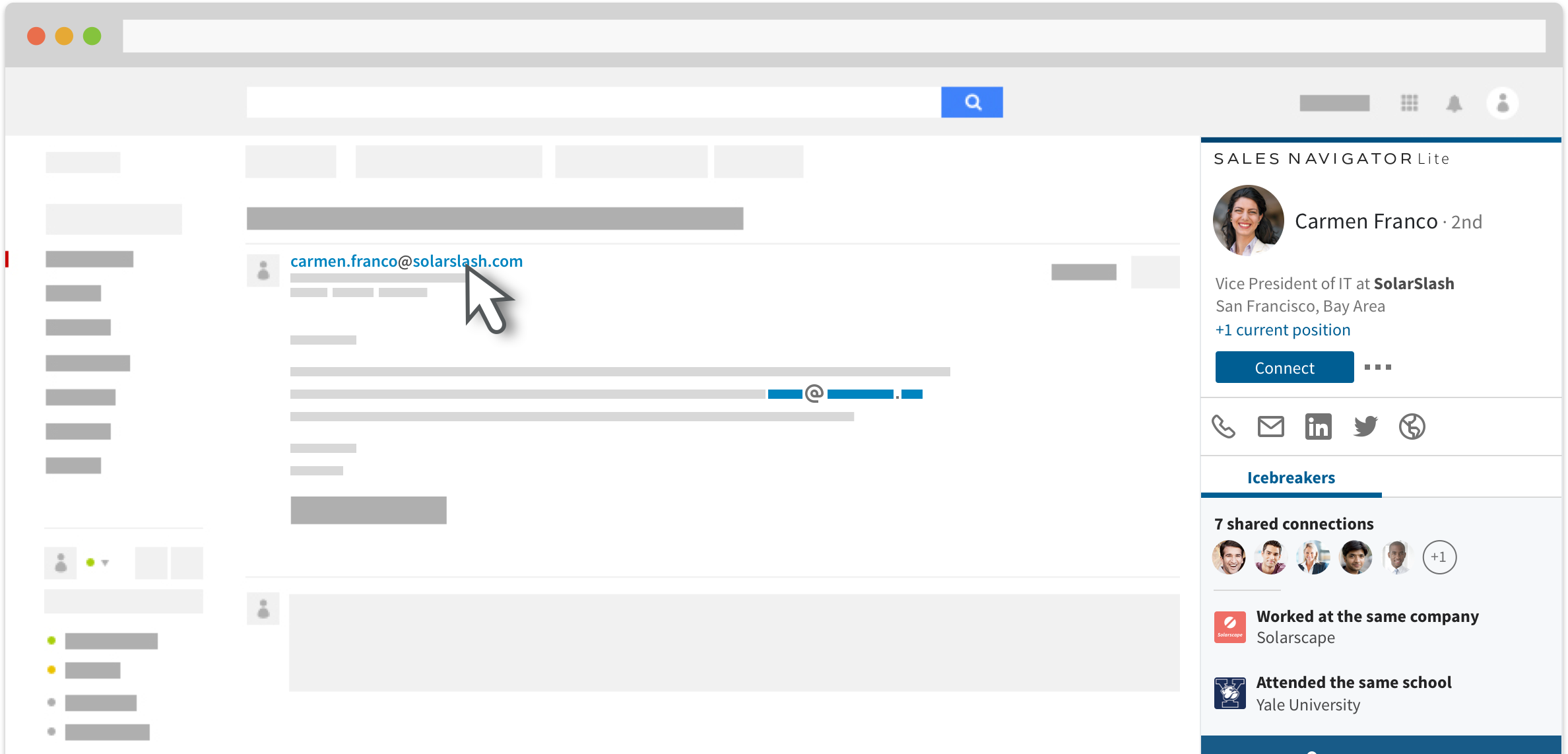 LinkedIn introduceert Sales Navigator Lite voor Gmail